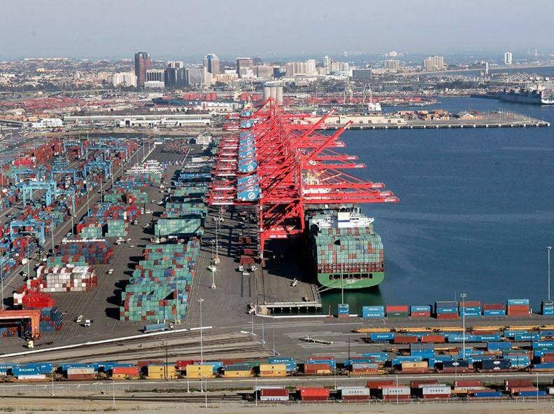 Ports Of La Long Beach Experiencing Congestion Delays Medallion