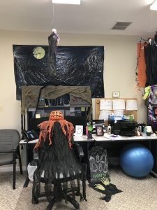 Medallion Olive Branch Corporate Office Gets Into Halloween Spirit