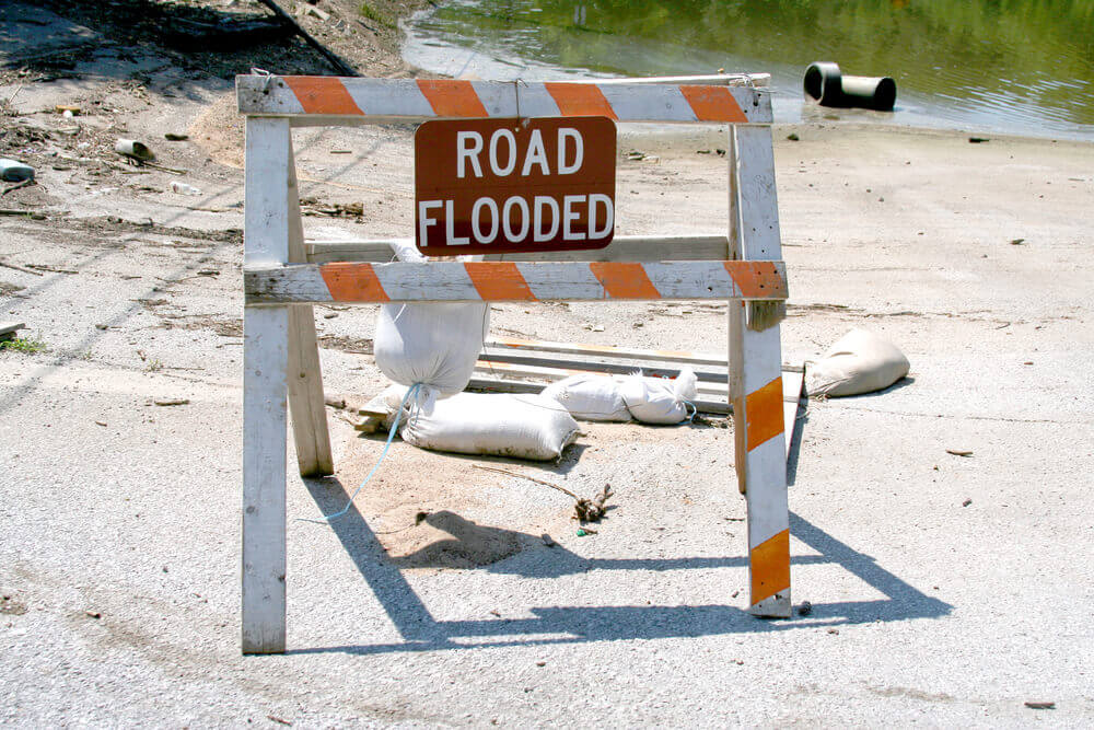Parts of I-29 & Loves Affected by MO Flooding