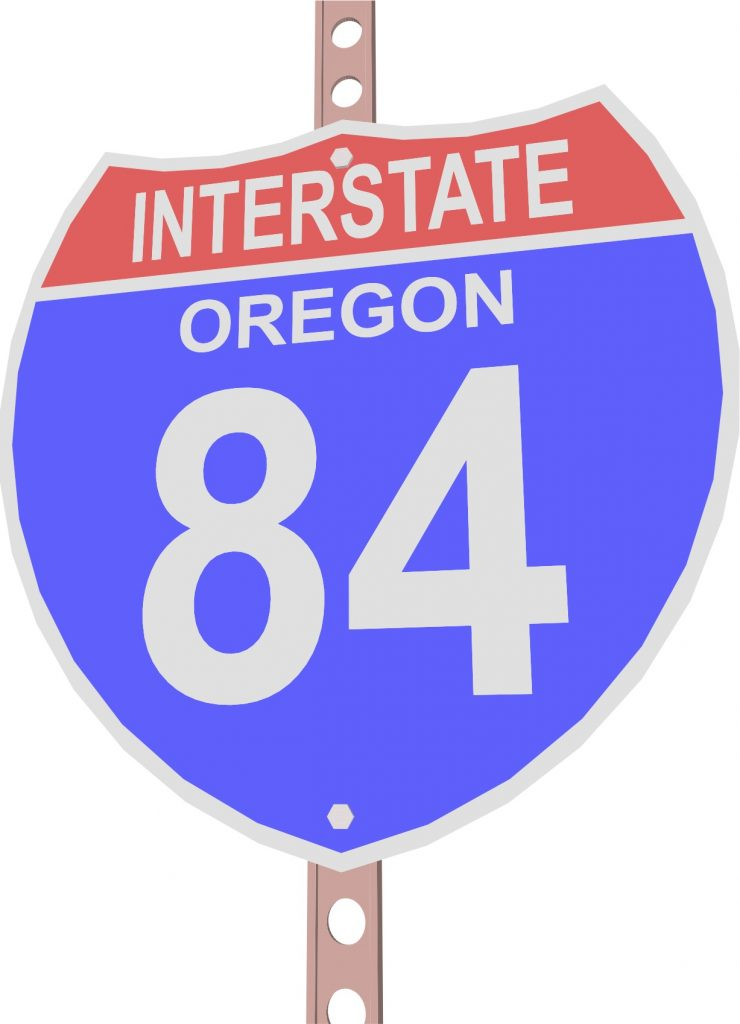 Width Restriction on I-84 in Oregon