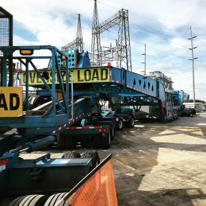550,000-pound superload out of IN