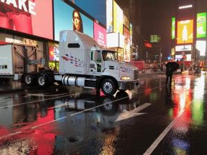 Times Square Truckload Delivery